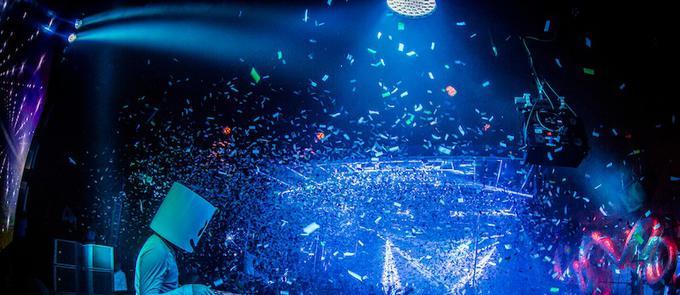 Marshmello Takes Over Surrender Nightclub