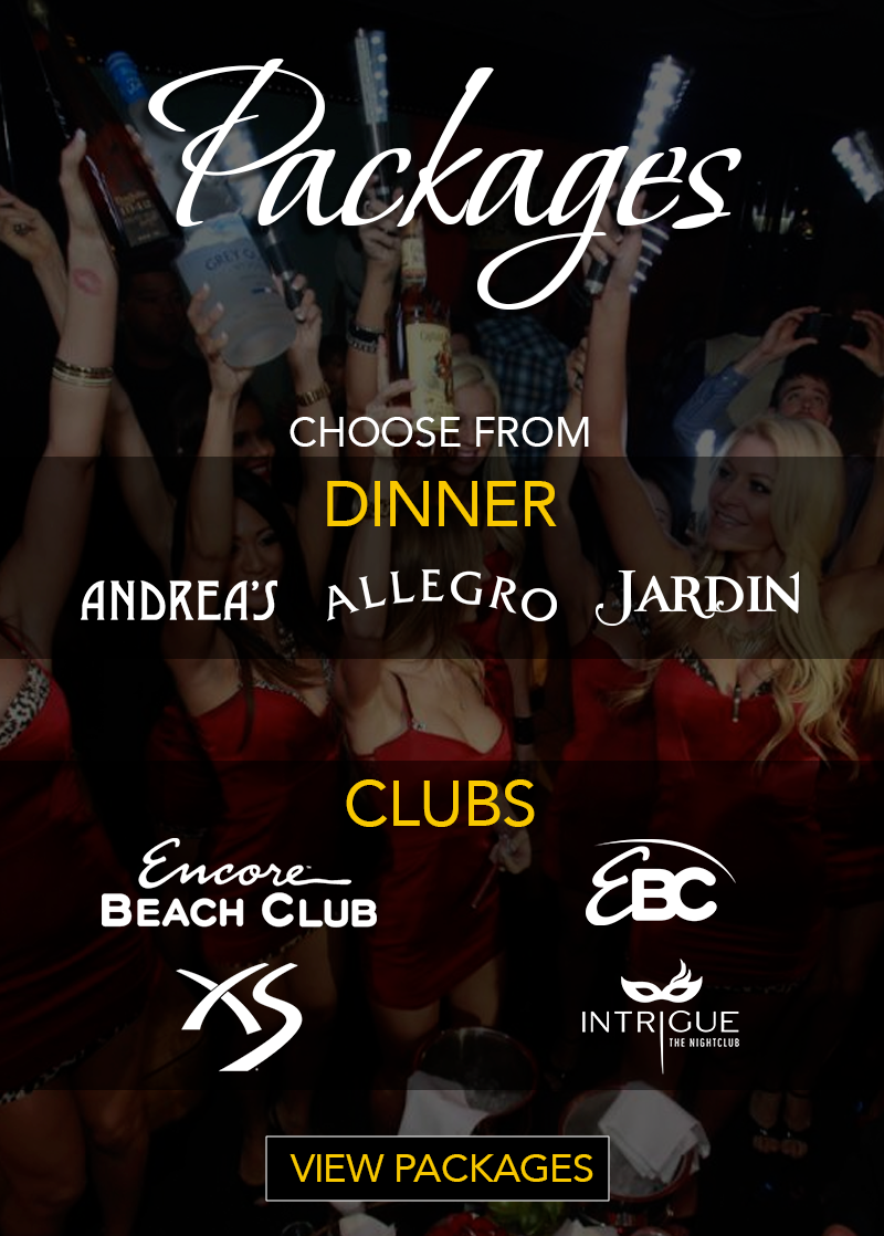 Encore Beach Club Bachelorette Packages